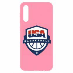 Чохол для Samsung A50 USA basketball
