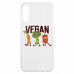 Чохол для Samsung A50 Веган овочі