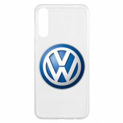Чохол для Samsung A50 Volkswagen 3D Logo