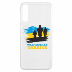 Чохол для Samsung A50 War veteran оf Ukraine
