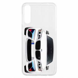 Чохол для Samsung A50 White bmw