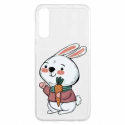 Чохол для Samsung A50 Winter bunny