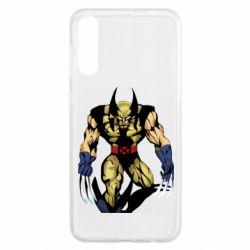 Чохол для Samsung A50 Wolverine comics