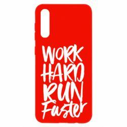 Чохол для Samsung A50 Work hard run faster