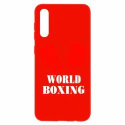 Чохол для Samsung A50 World Boxing