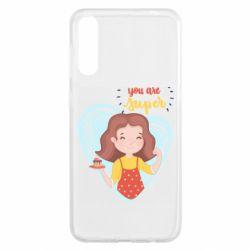 Чохол для Samsung A50 You are super girl