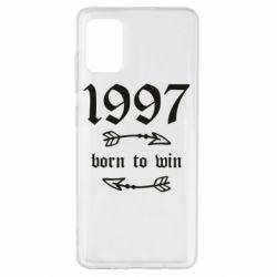 Чохол для Samsung A51 1997 Born to win