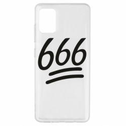 Чехол для Samsung A51 666