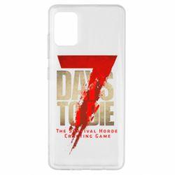 Чохол для Samsung A51 7 Days To Die