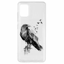 Чохол для Samsung A51 A pack of ravens