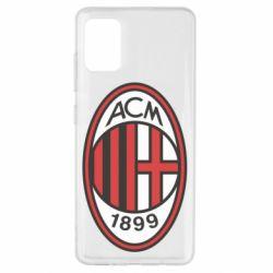 Чохол для Samsung A51 AC Milan