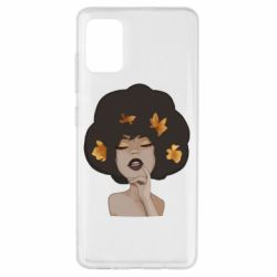 Чохол для Samsung A51 Afro girl in autumn shades