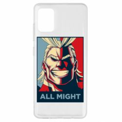 Чехол для Samsung A51 All might