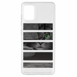 Чехол для Samsung A51 All seeing cat