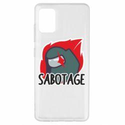 Чохол для Samsung A51 Among Us Sabotage