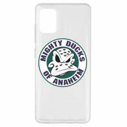 Чехол для Samsung A51 Anaheim Mighty Ducks Logo