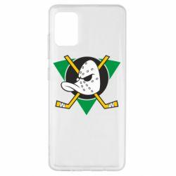 Чехол для Samsung A51 Anaheim Mighty Ducks