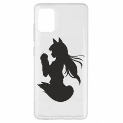 Чехол для Samsung A51 Anime Spice and Wolf