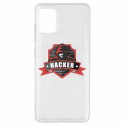 Чохол для Samsung A51 Anonymous Hacker