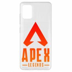 Чохол для Samsung A51 Apex legends gradient logo