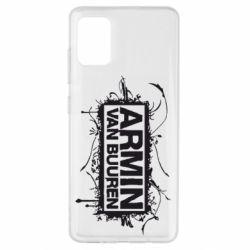 Чехол для Samsung A51 Armin Van Buuren
