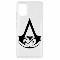 Чохол для Samsung A51 Assassin's Creed Origins logo
