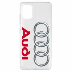 Чохол для Samsung A51 Audi 3D Logo