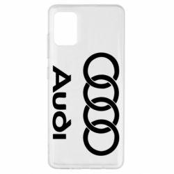 Чехол для Samsung A51 Audi