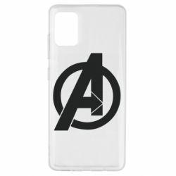 Чохол для Samsung A51 Avengers logo