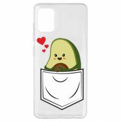 Чехол для Samsung A51 Avocado in your pocket