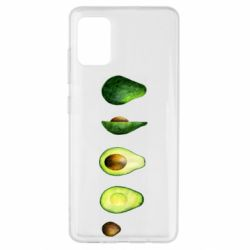 Чехол для Samsung A51 Avocado set