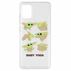 Чехол для Samsung A51 Baby Yoga