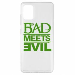 Чехол для Samsung A51 Bad Meets Evil