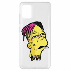 Чехол для Samsung A51 Bart as Lil Peep