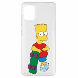 Чохол для Samsung A51 Bart Simpson