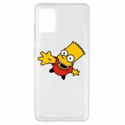 Чехол для Samsung A51 Барт Симпсон