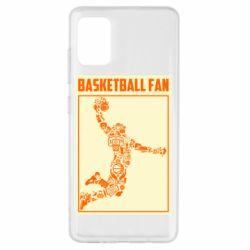 Чохол для Samsung A51 Basketball fan