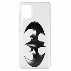 "Чехол для Samsung A51 Batman ""3d Logo"""