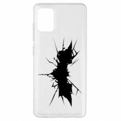 Чохол для Samsung A51 Batman cracks