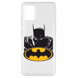 Чехол для Samsung A51 Batman face