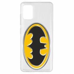 Чехол для Samsung A51 Batman Gold Logo