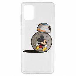Чохол для Samsung A51 BB-8 and Mickey Mouse