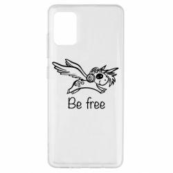Чохол для Samsung A51 Be free unicorn