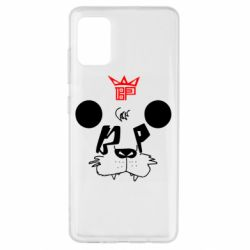 Чехол для Samsung A51 Bear panda
