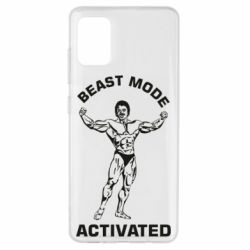 Чехол для Samsung A51 Beast mode activated