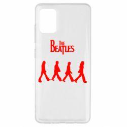 Чохол для Samsung A51 Beatles Group