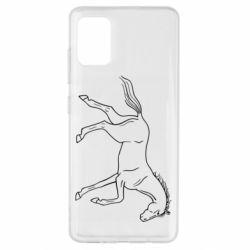 Чохол для Samsung A51 Beautiful horse