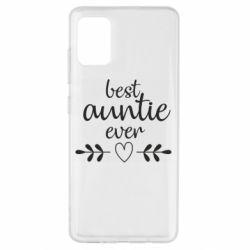 Чохол для Samsung A51 Best auntie ever