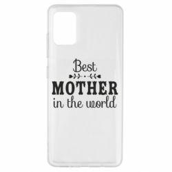 Чохол для Samsung A51 Best mother in the world