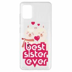 Чохол для Samsung A51 Best sister ever